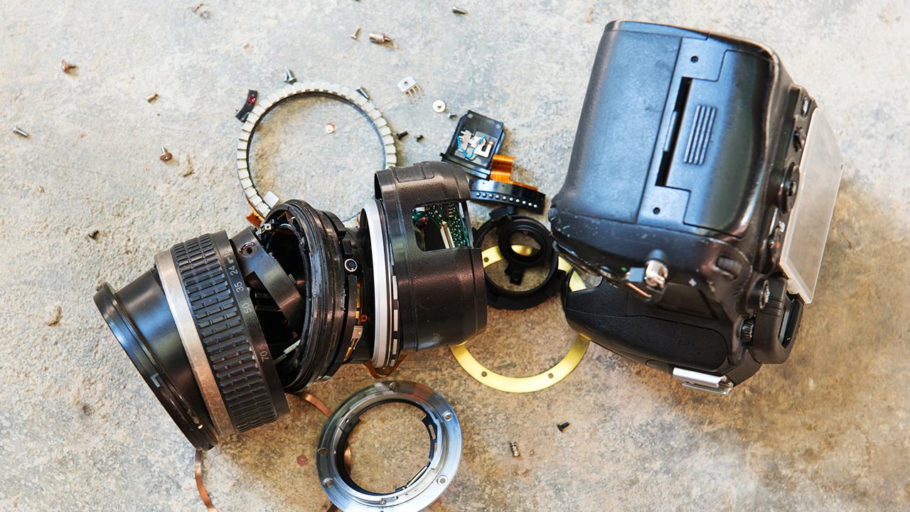 Broken camera