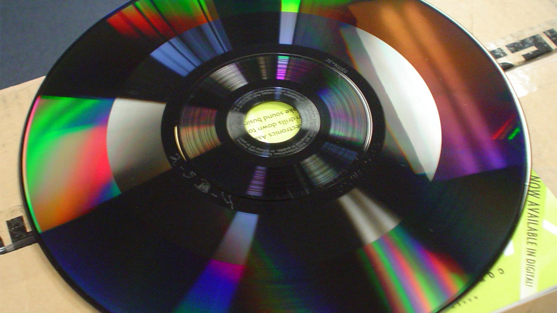 An RCA CED disc
