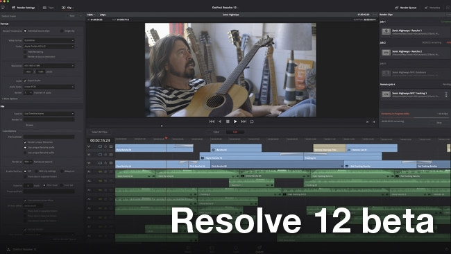 Blackmagic Da Vinci Resolve 12 Public Beta Now Available For Download