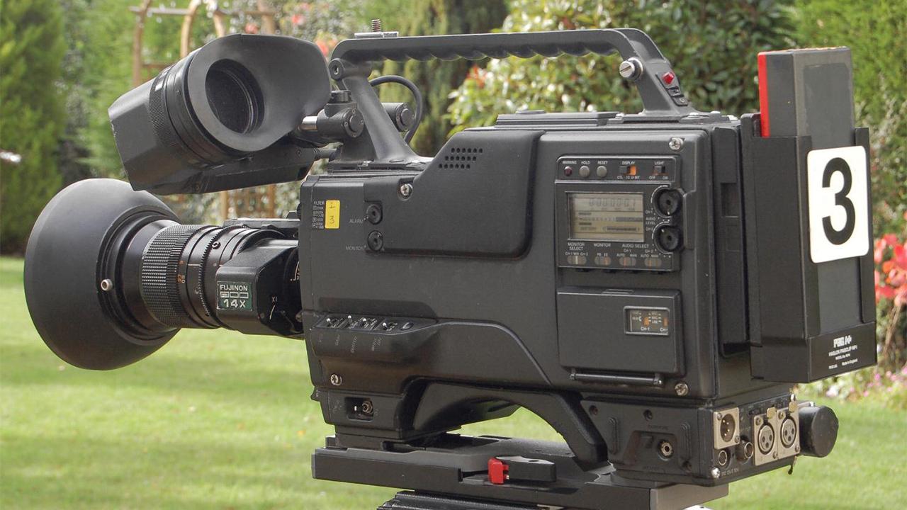 Betacam SP camera