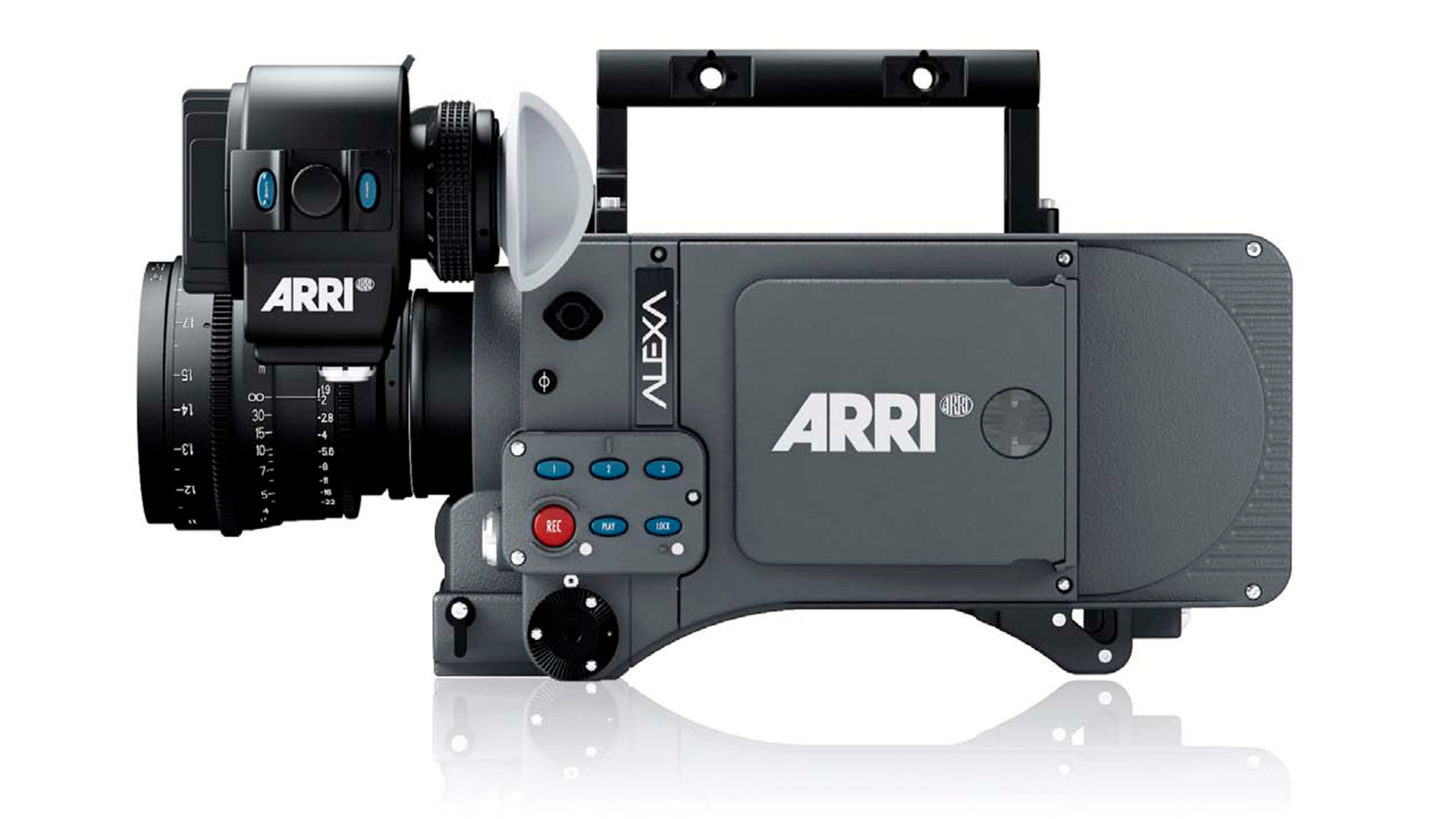The original ARRI ALEXA. Image ARRI.