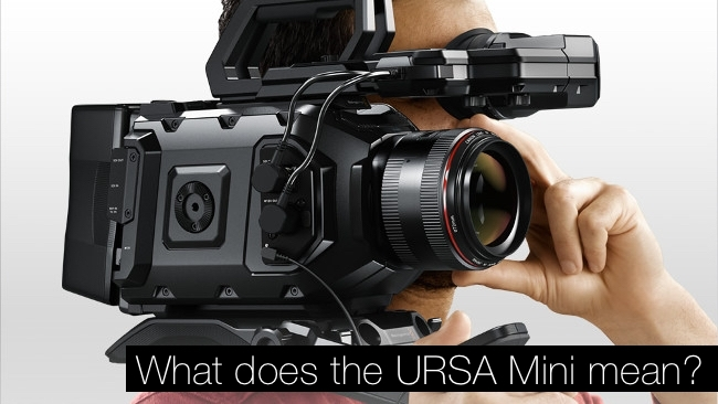 Blackmagic Ursa Mini 4 6k Could Be A Higher Res Bmcc And That Would Be Great