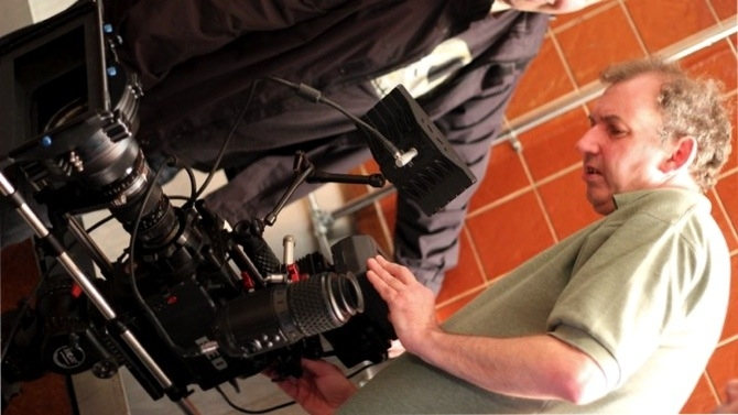 DP David Read with RED camera