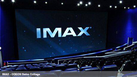 IMAX screen - ODEON Swiss Cottage