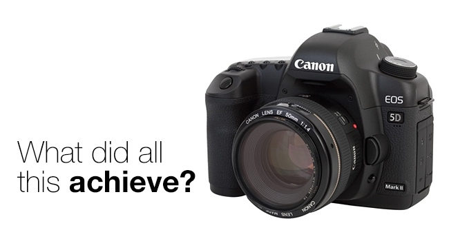The Canon EOS 5D: first among equals.