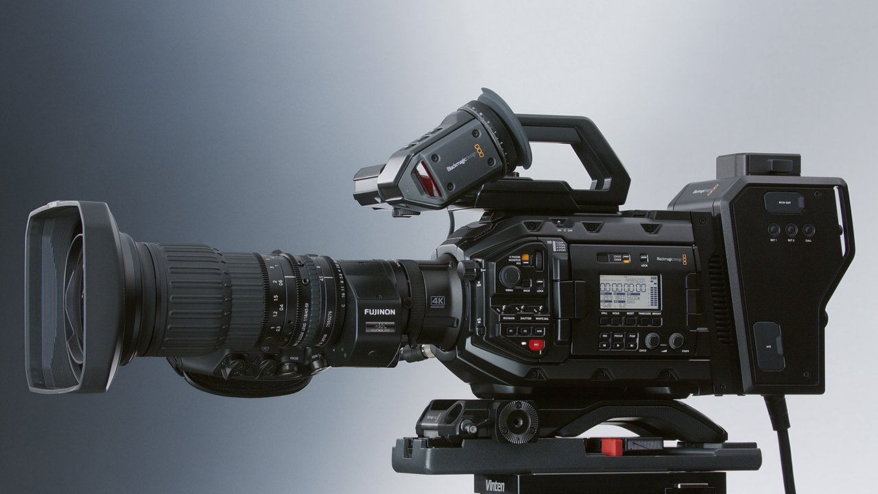 Blackmagic Launches Two In One Hd Uhd Ursa Broadcast Camera