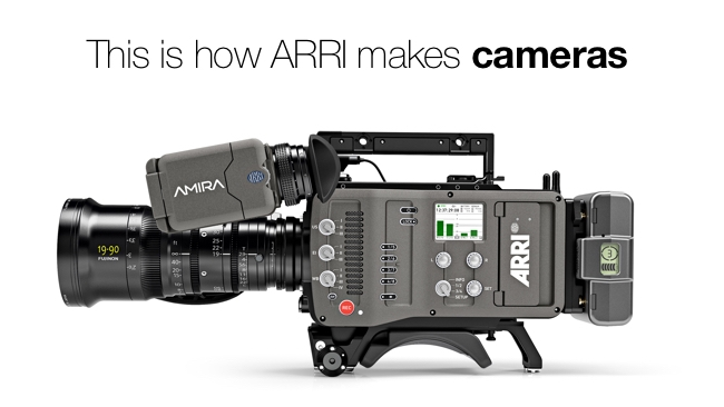 This is how ARRI makes cameras