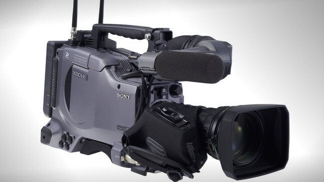 The PDW-510 XDCAM camcorder. Image: Sony.