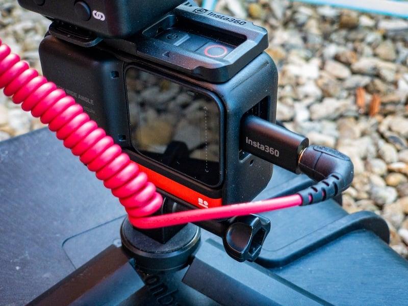 Insta360 ONE R USB mic adaptor.
