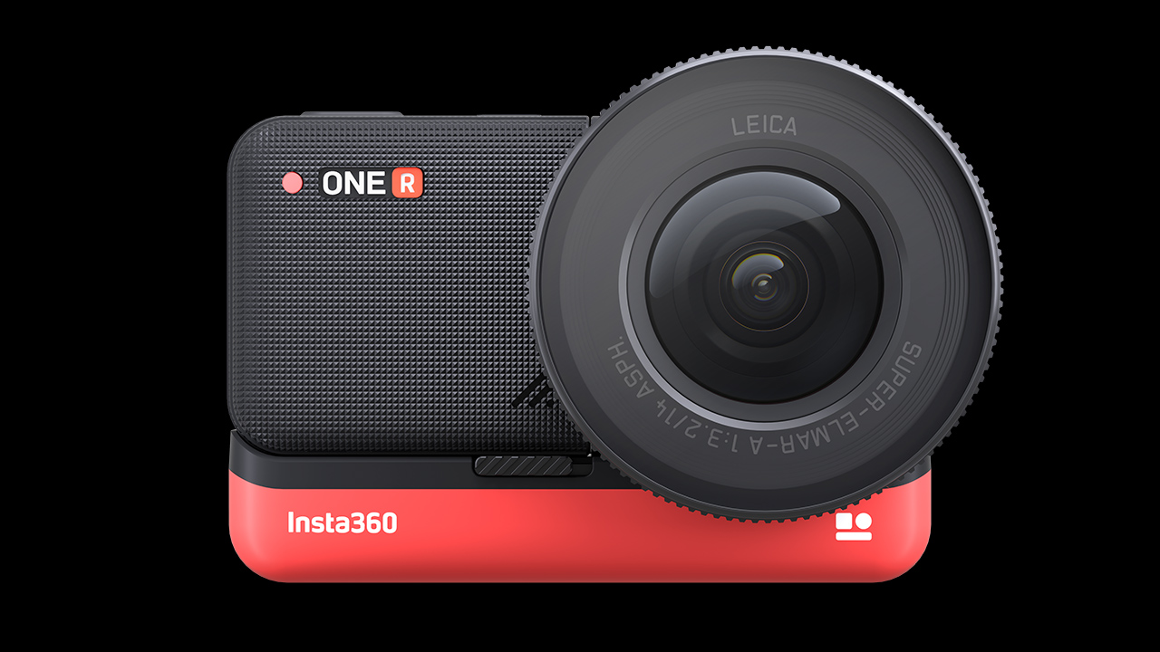 The Insta360 ONE R 1-Inch Edition. Image: Insta360.