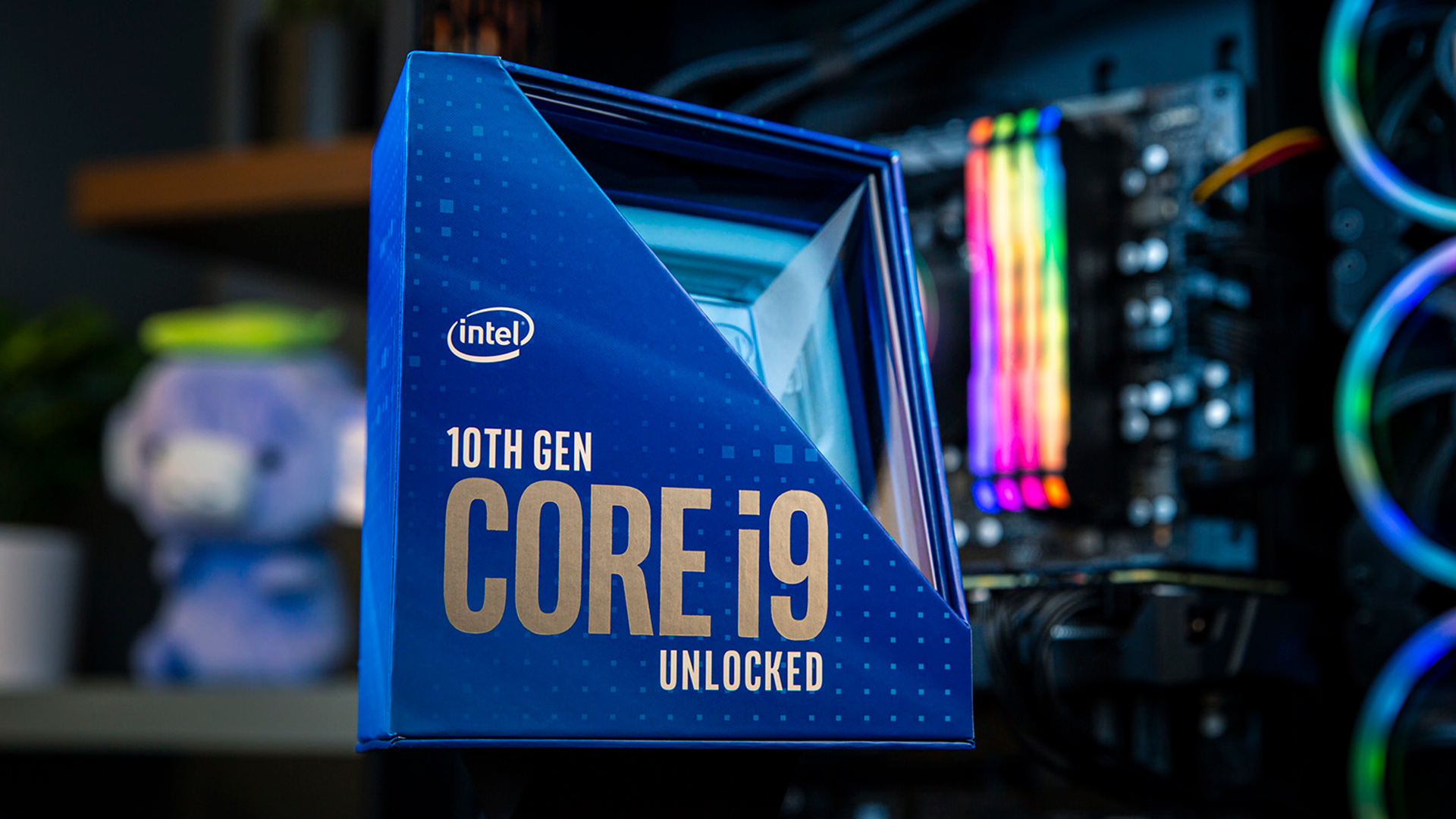 Intel's 10th Gen Core i9-10900K packs some serious power, but is it enough? Image: Intel.