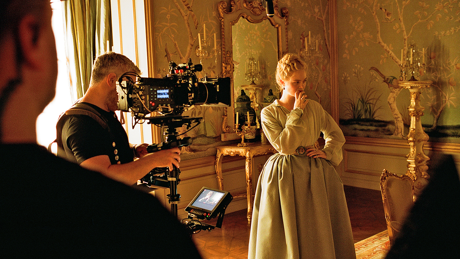The ALEXA SXT Plus being used on the set of The Great.