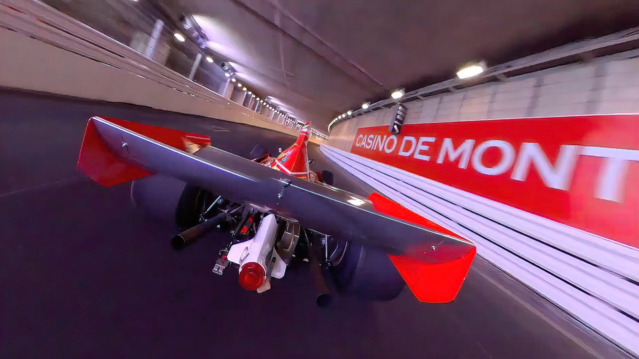 Niki Lauder's Ferrari 312 B3 meets the Insta360 ONE X2 camera.