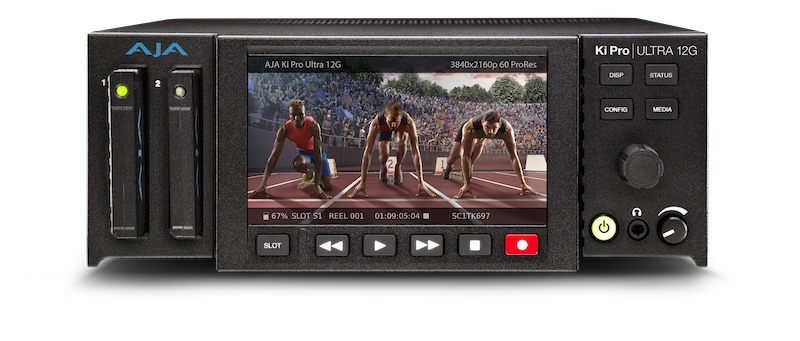 AJA Ki Pro Ultra 12G. Image: AJA.