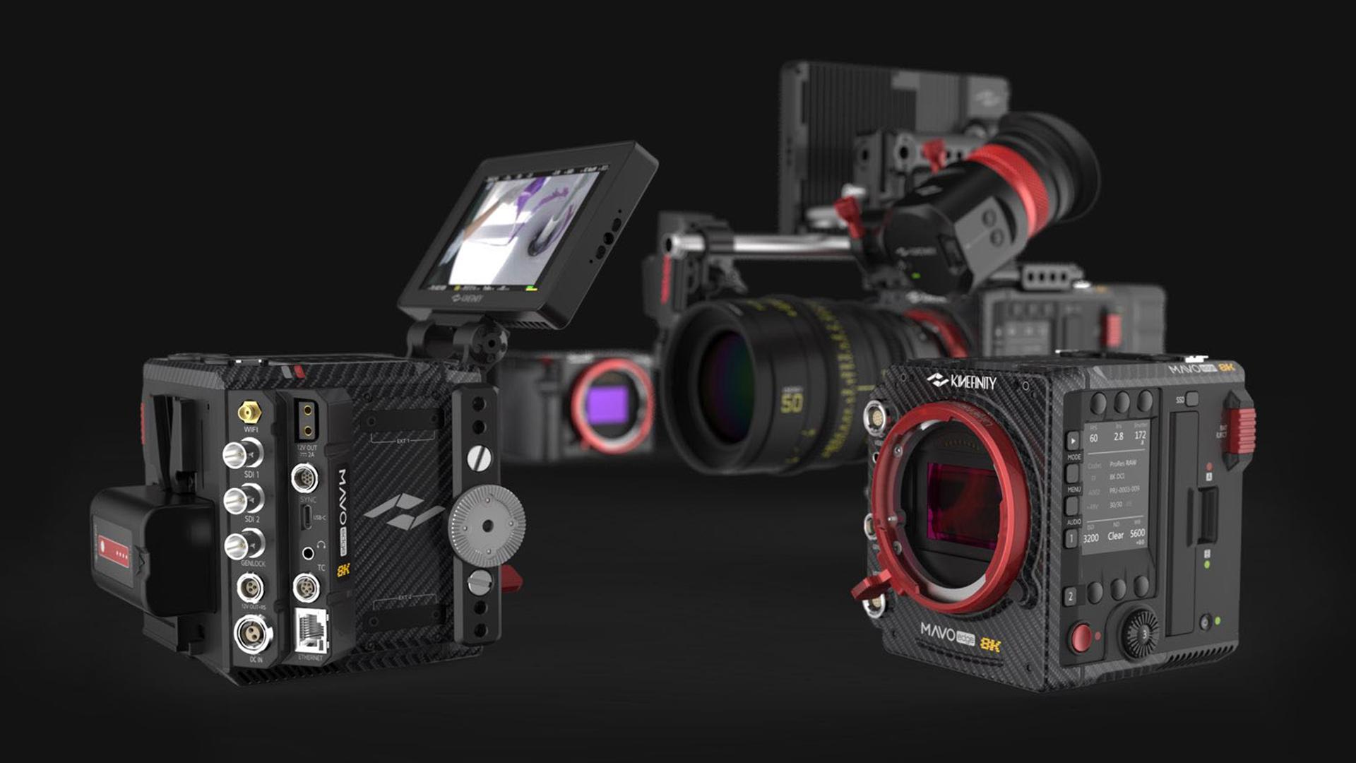 The Kinefinity MAVO Edge 8K camera. Image: Kinefinity.
