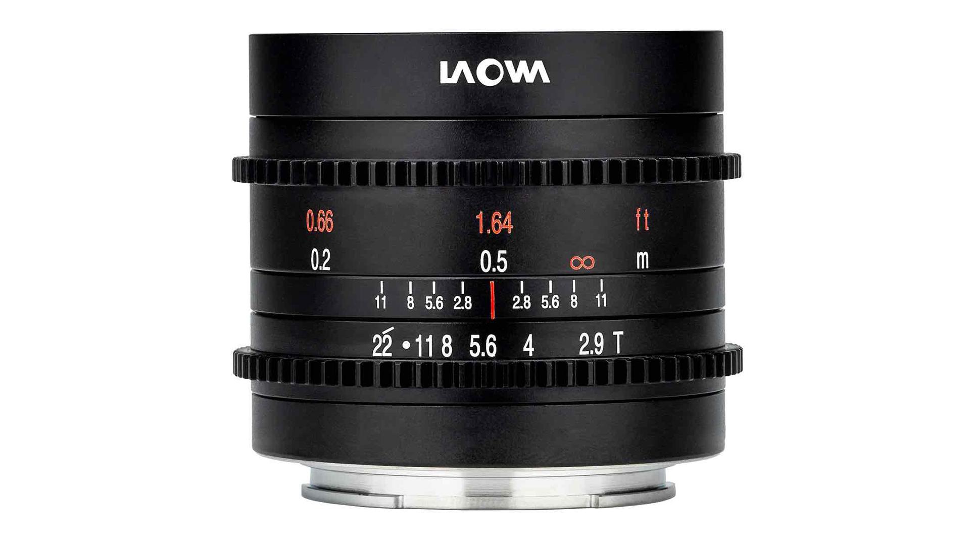 Laowa 9mm T/2.9 cine lens. Image: Venus Optics.