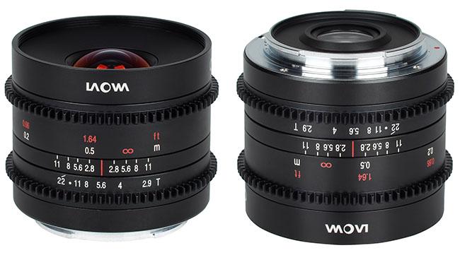 LAOWA 9mm T/2.9 Cine Lens for APS-C. Image: Venus Optics.