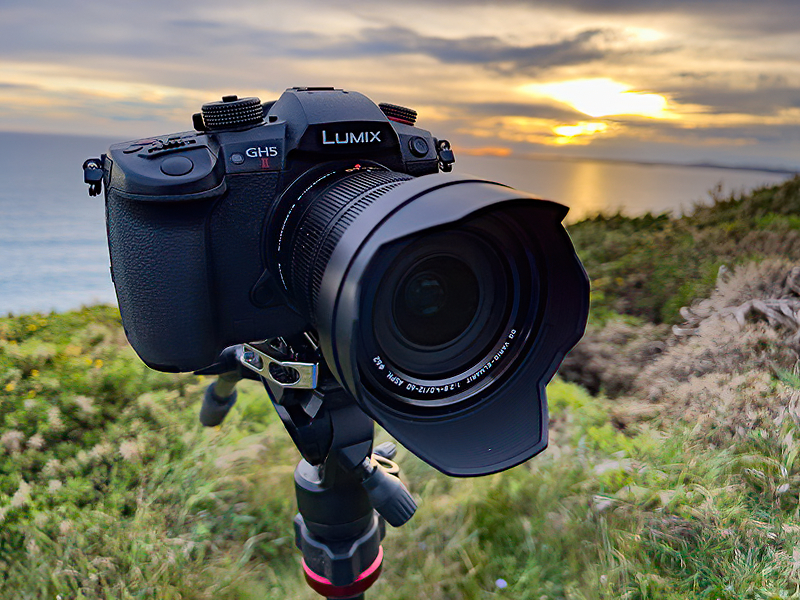 The GH5M2 being put through its paces.