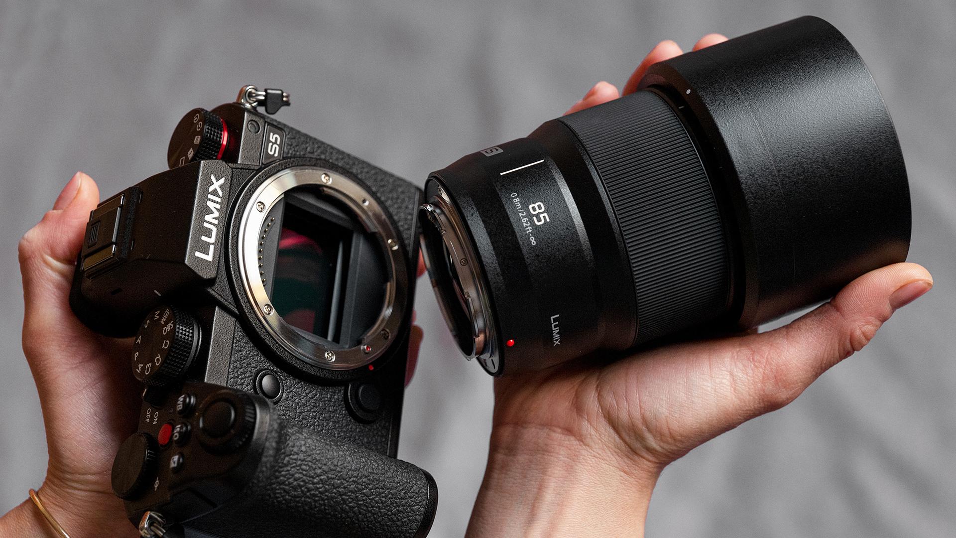 LUMIX S 85mm f/1.8. Image: Panasonic.