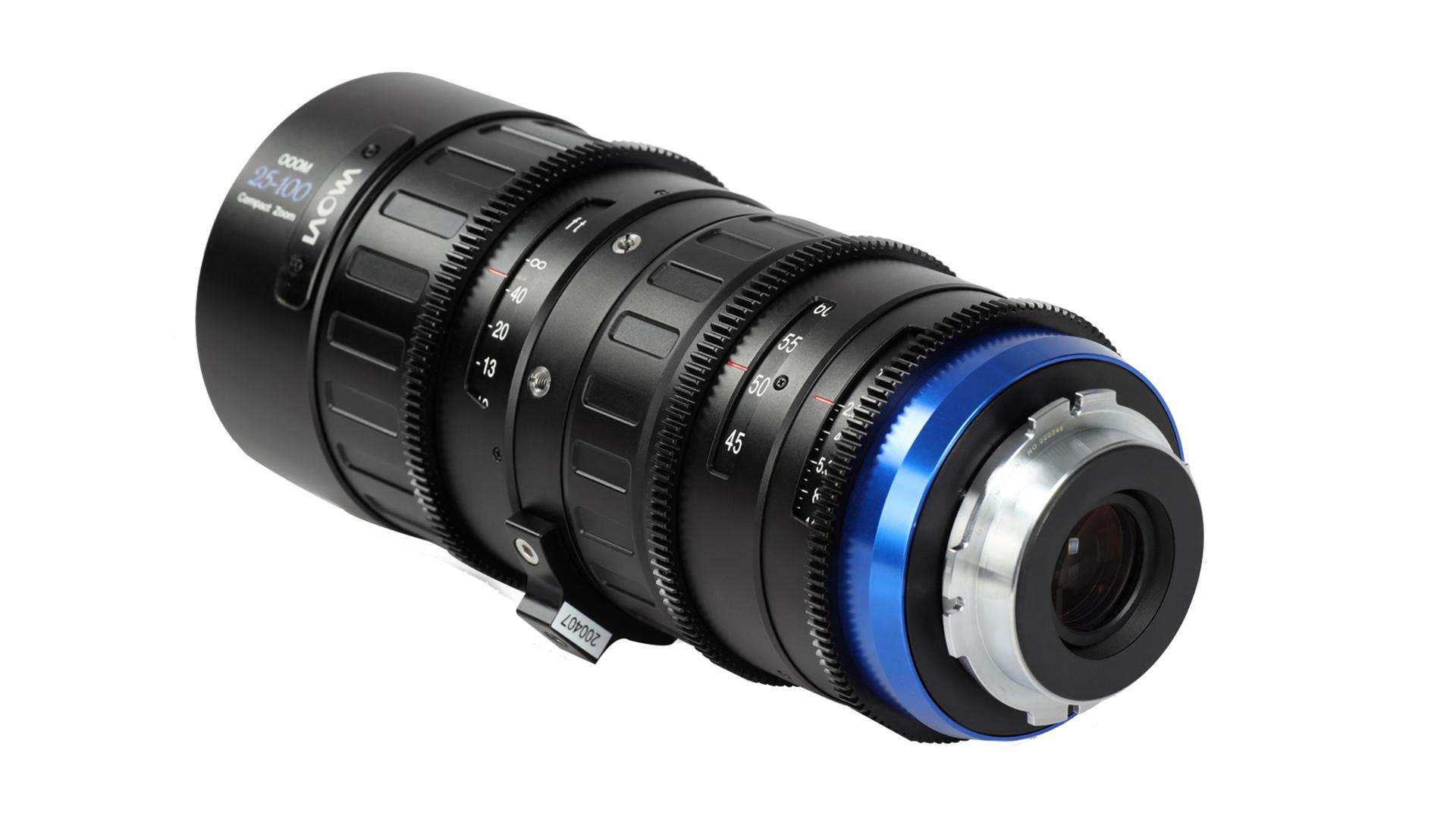 Venus Optics announces new 25-100m T2.9 cine lens