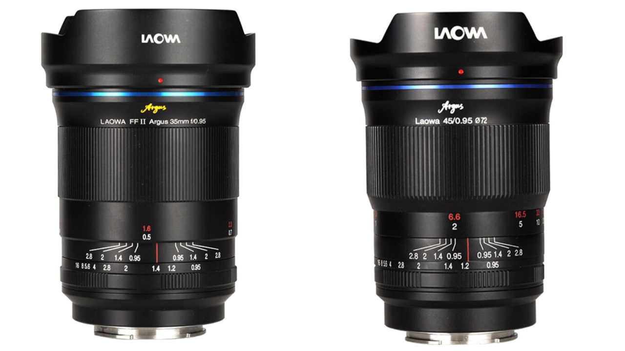 Venus Optics Laowa Argus fast primes. Image: Venus Optics.