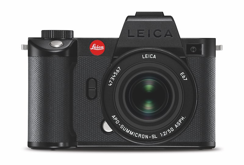 Leica SL2-S front view. Image: Leica.