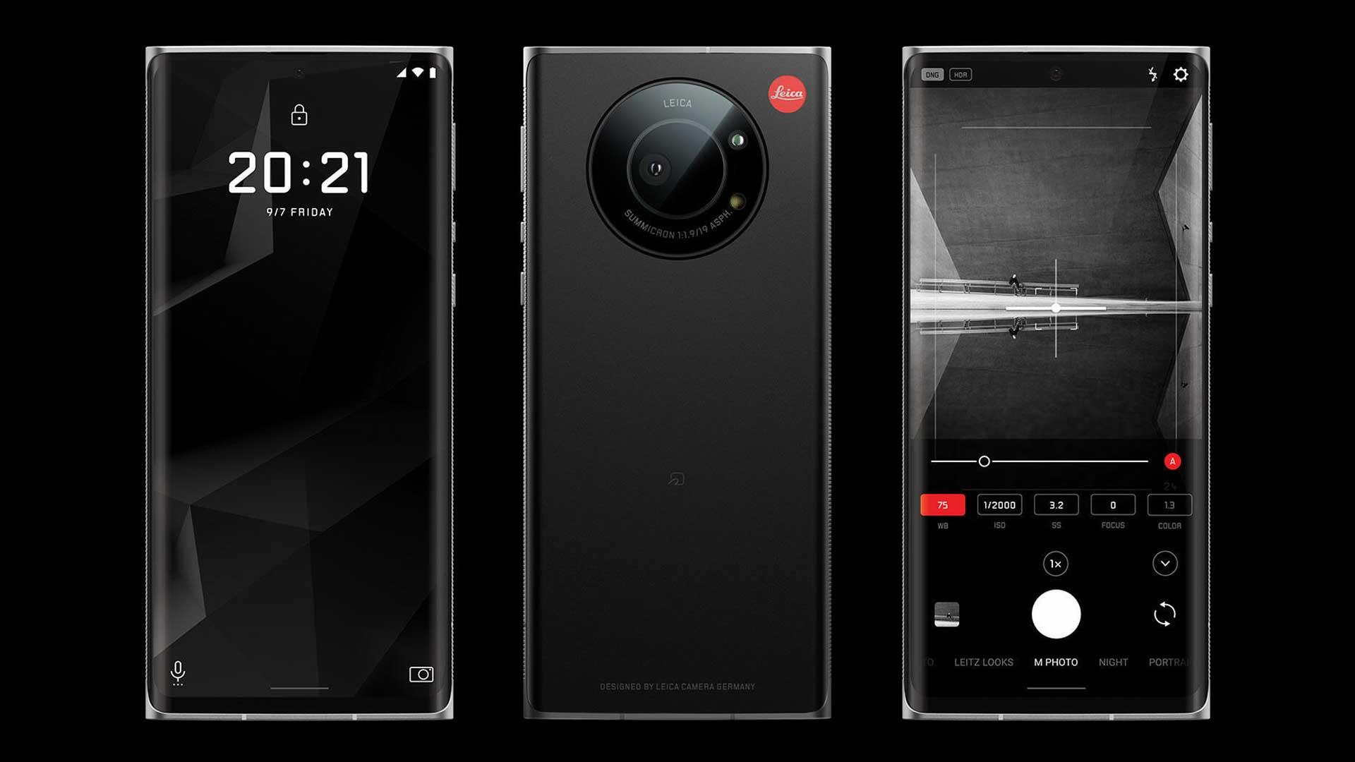 The Leica Leitz Phone 1. Image: Leica.