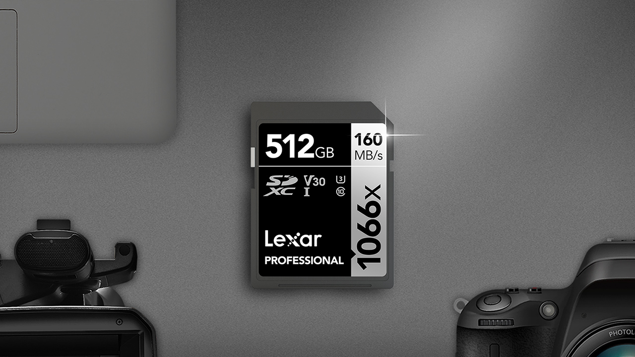Lexar's new 1066x SILVER Series SD and SDXC UHS-I Memory Cards. Image: Lexar.