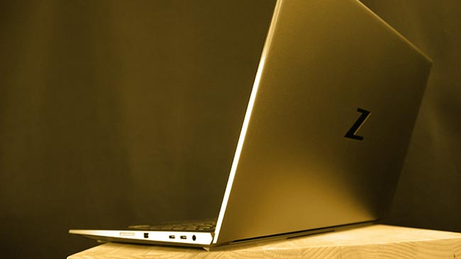 Light, powerful, and a beautiful design - that's the HP ZBook Studio G7