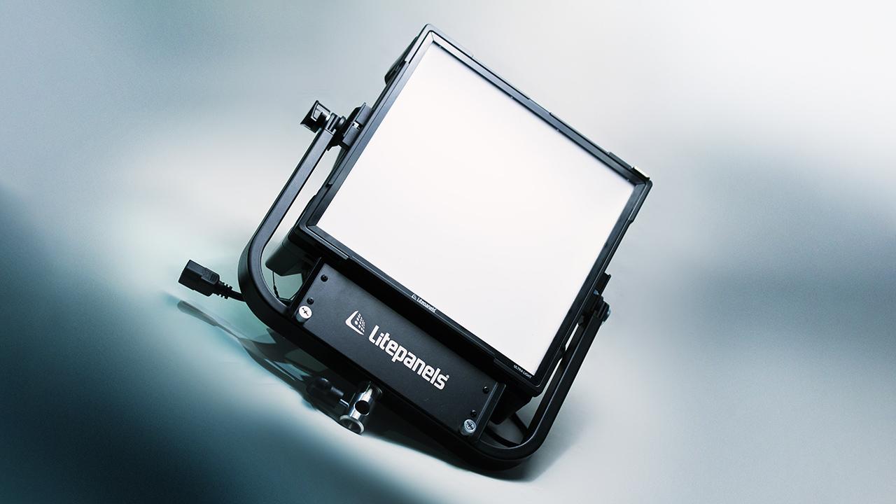 The Litepanels Gemini 1x1 Hard LED light. Image: Phil Rhodes.