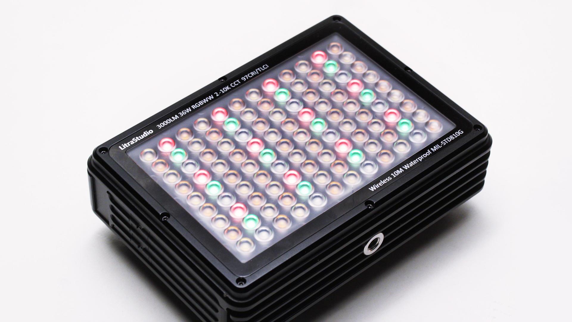 LitraStudio 36W full colour mixing LED light.