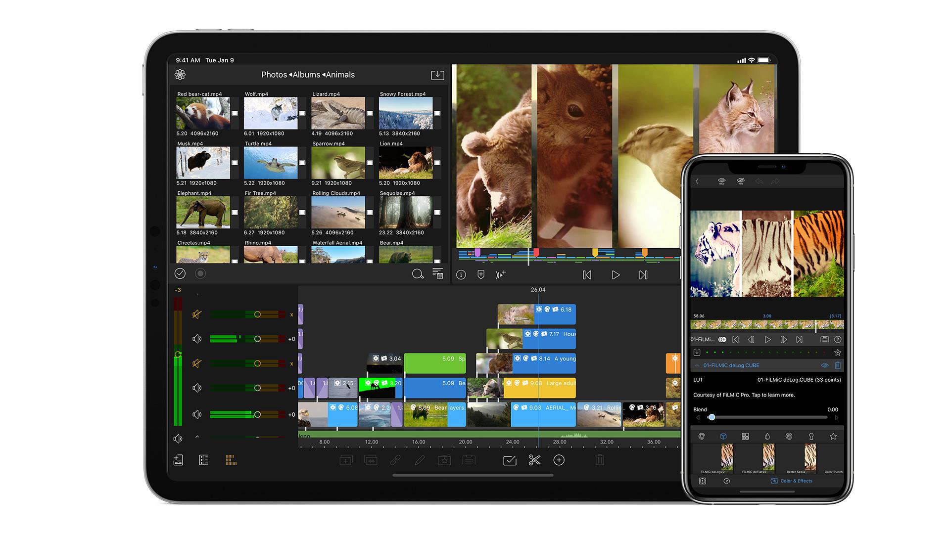 LumaFusion 2.4. Image: Luma Touch.