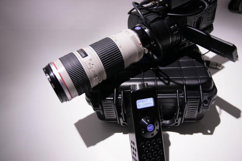 MTF Services' Effect 3 lens controller
