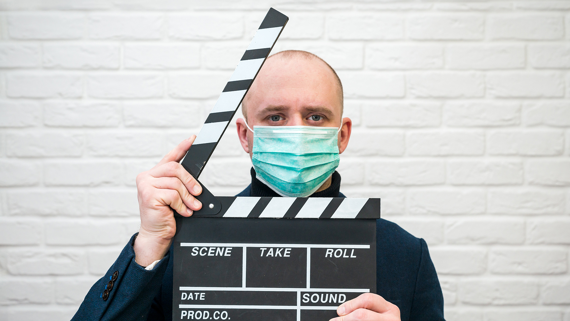 Making television during a pandemic.