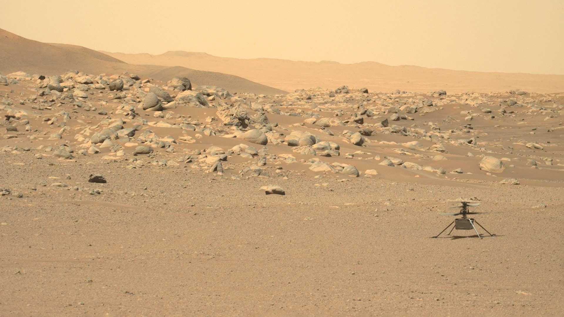 Mars Ingenuity helicopter.