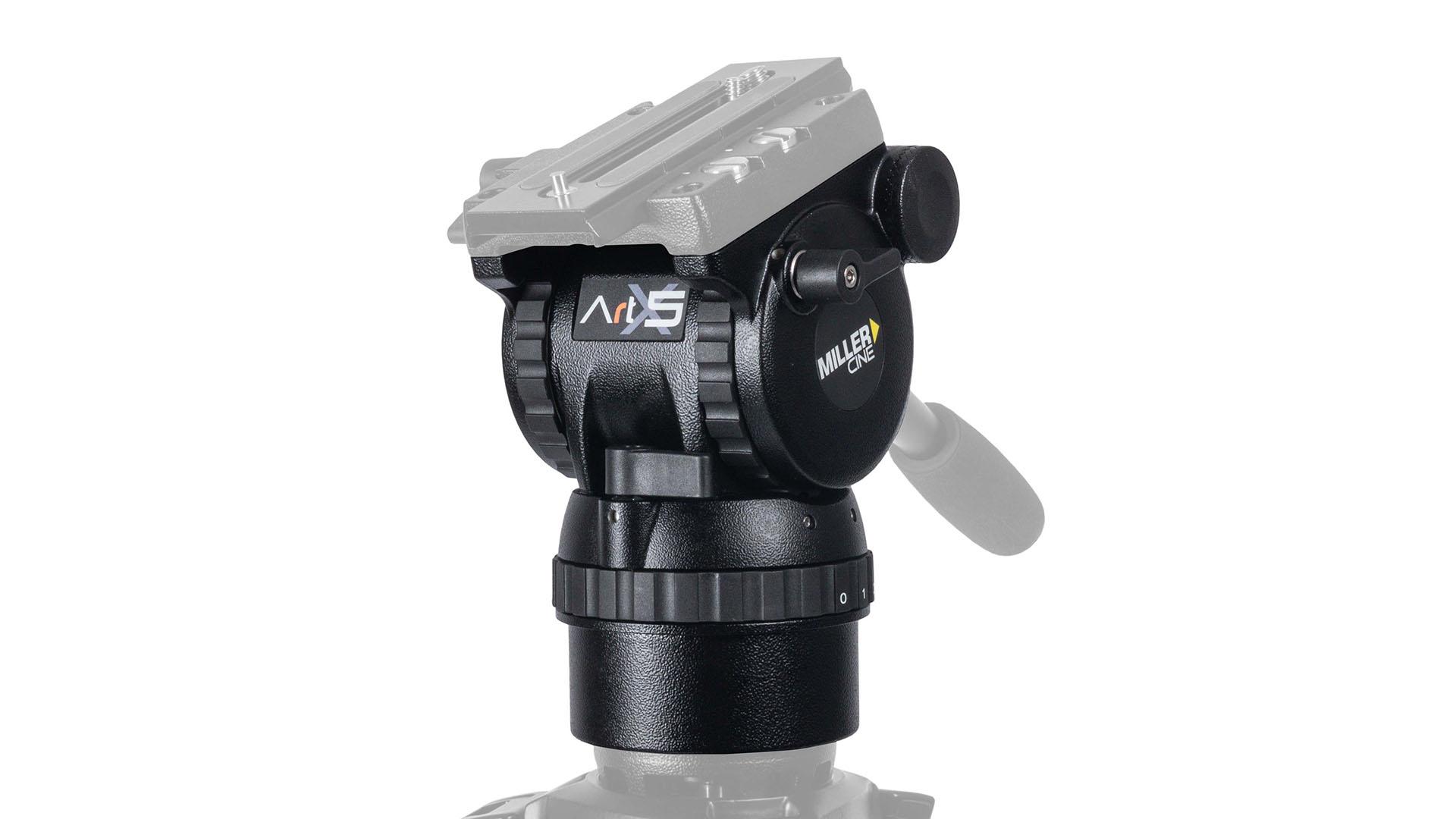 The new Miller ArtX fluid head. Image: Miller.