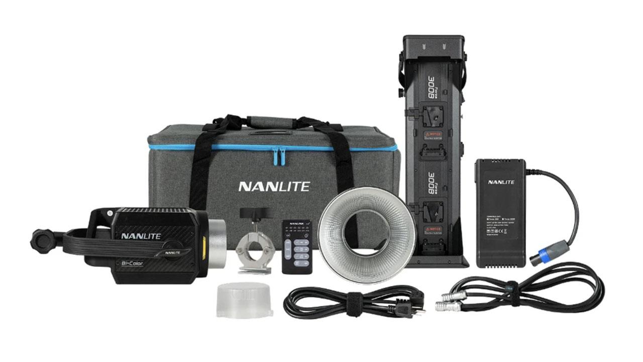 Nanlite Introduces Forza 300B Bicolor LED Monolight.