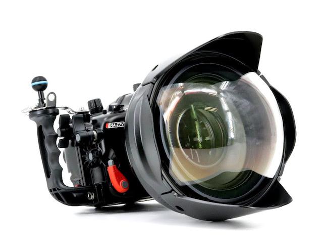 Nauticam NA-α2020 with WACP 2 corrective lens.