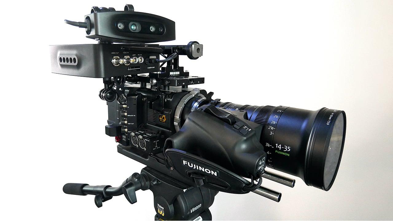 The lightweight Ncam Camera Bar Mk2. Image: Ncam.
