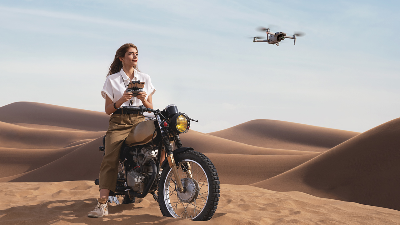 You no longer have to go to a desert to fly your drone legally. Image: DJI.