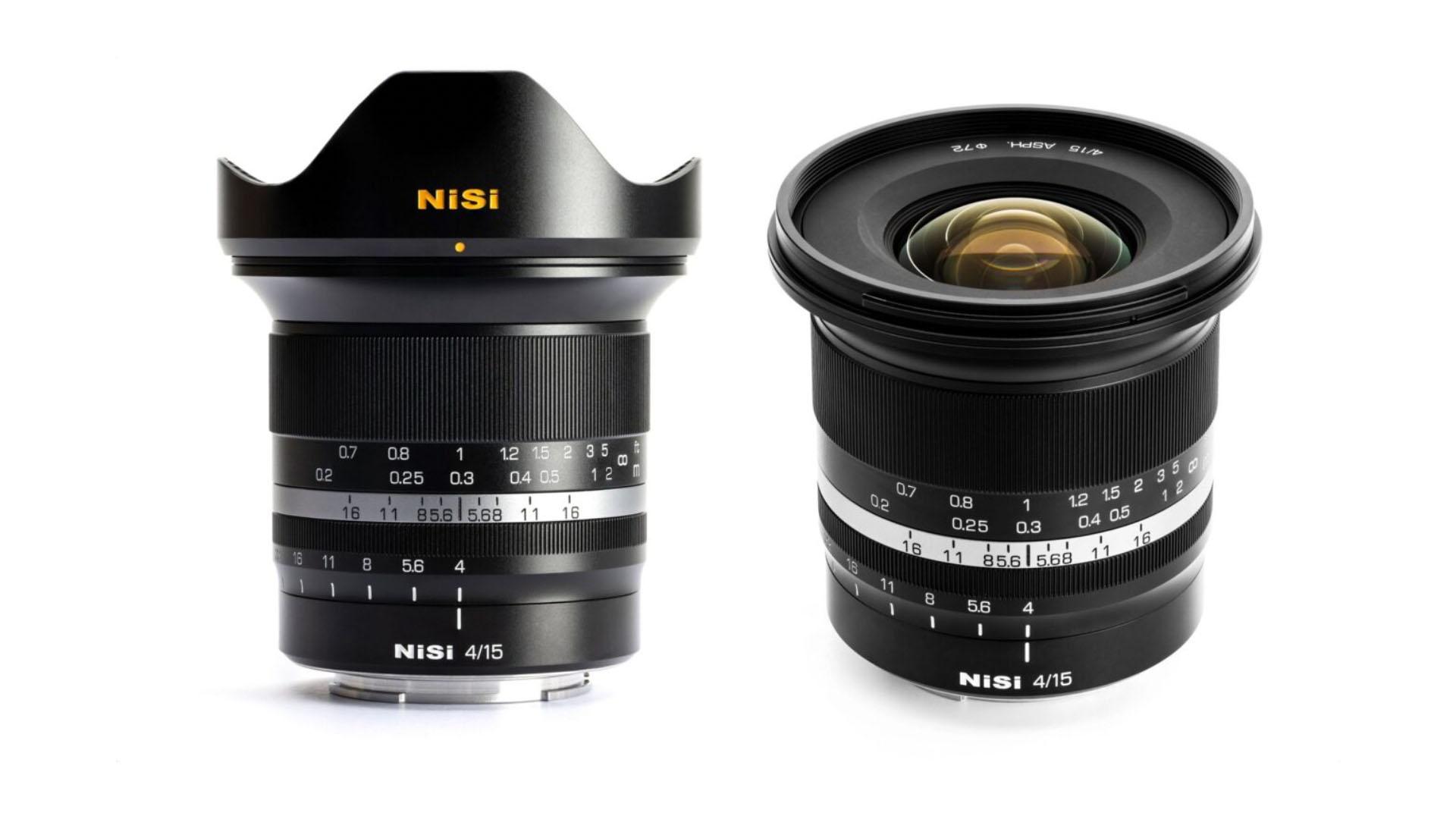 NiSi 15mm f/4 Sunstar lens. Image: NiSi.