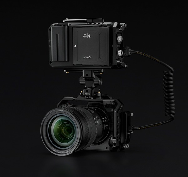 Nikon's new Z 6II and Z 7II now have ProRes RAW support. Image: Atomos.