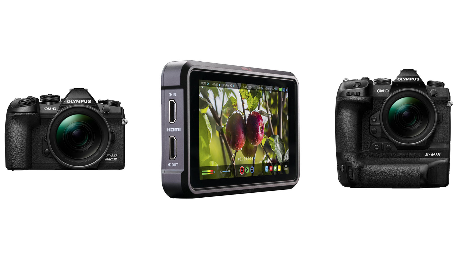 ProRes RAW output is now available on the Olympus OM-D cameras.