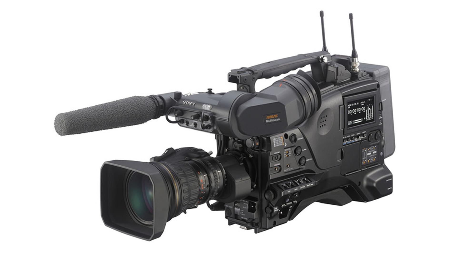 Sony PDW-850 XDCAM. Image: Sony.