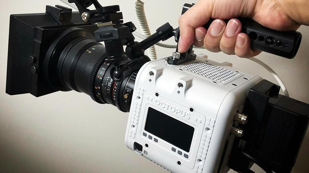 The OCTOPUS LF camera.