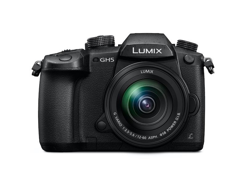 Panasonic LUMIX DC-GH5 front
