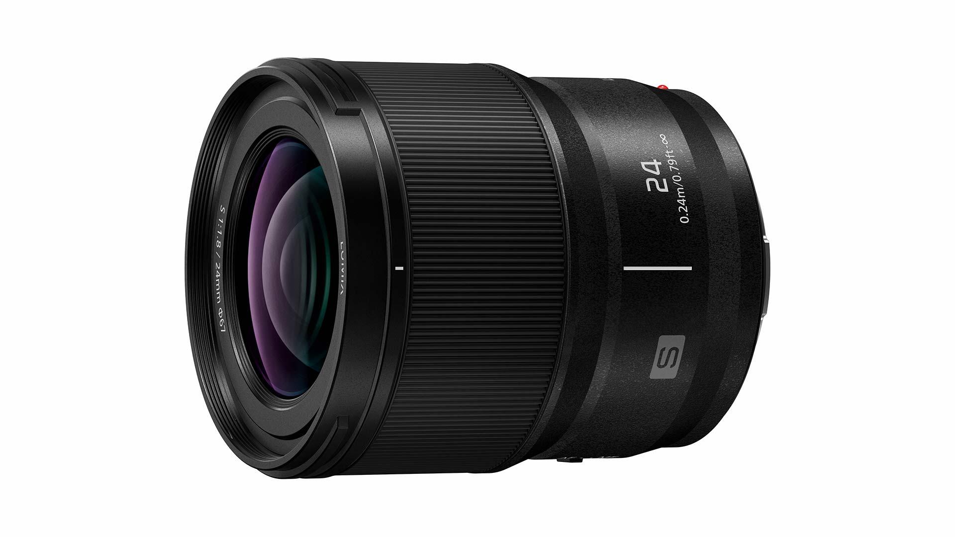 The new Panasonic LUMIX S 24mm f/1.8 lens. Image: Panasonic.