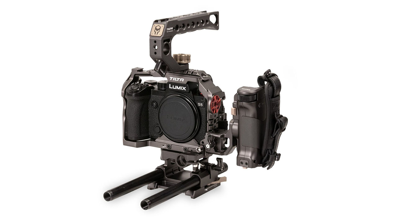 The new Tilta cage system for the Panasonic DC-S5. Image: Tilta.