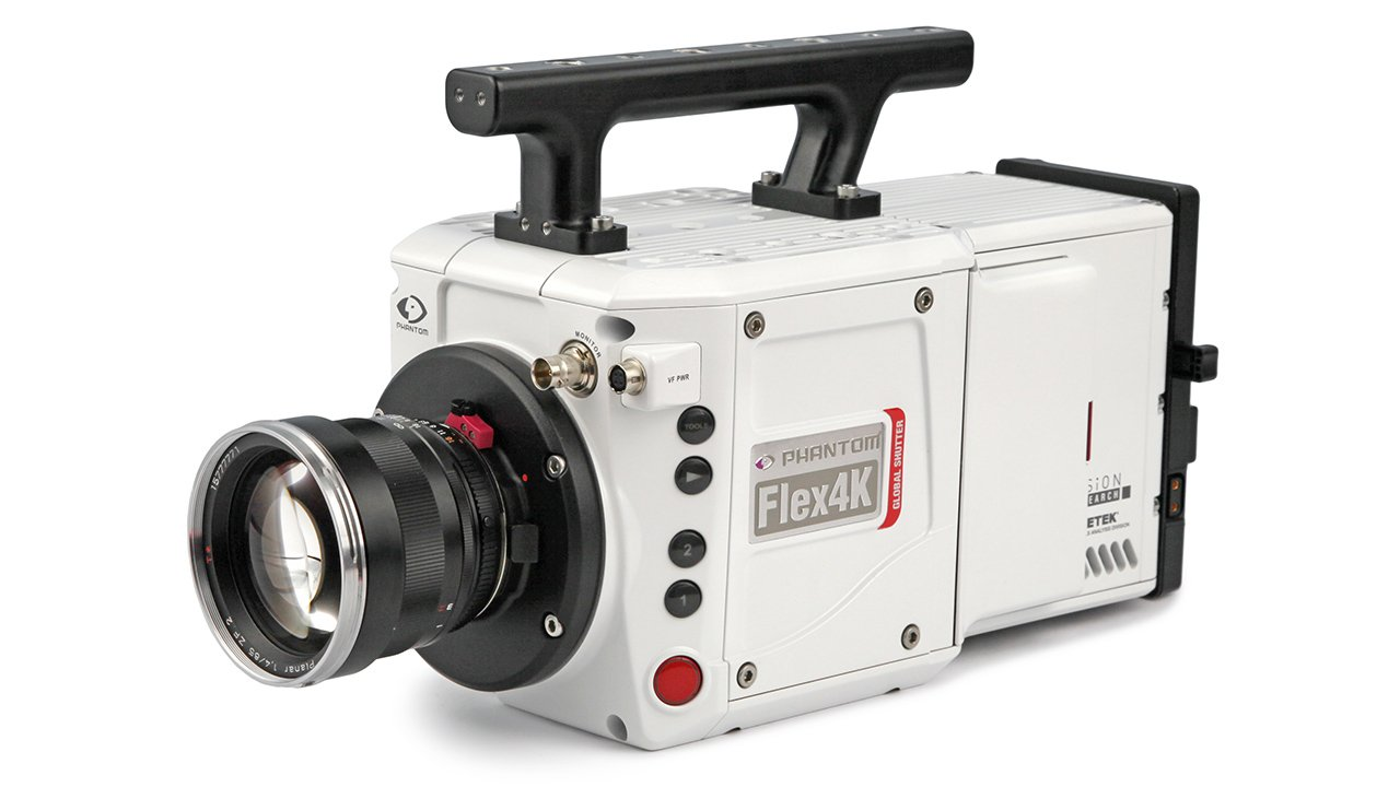 The Phantom Flex 4K. It's affordable in the same way as a Lamborghini. Image: Vision Research.