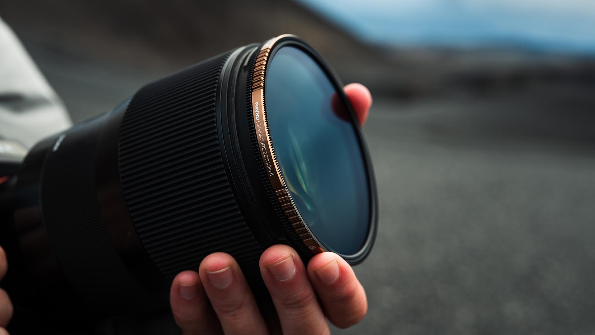 The new Peter McKinnon Edition II VND filters. Image: PolarPro.